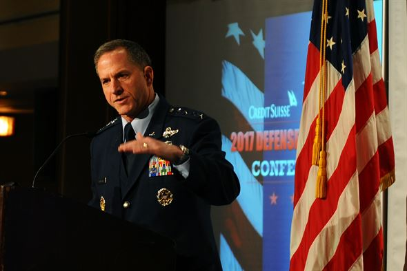 Goldfein: Optimistic about future of airpower