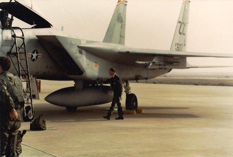 Gary Baber at Kwang Ju Air Base, South Korea