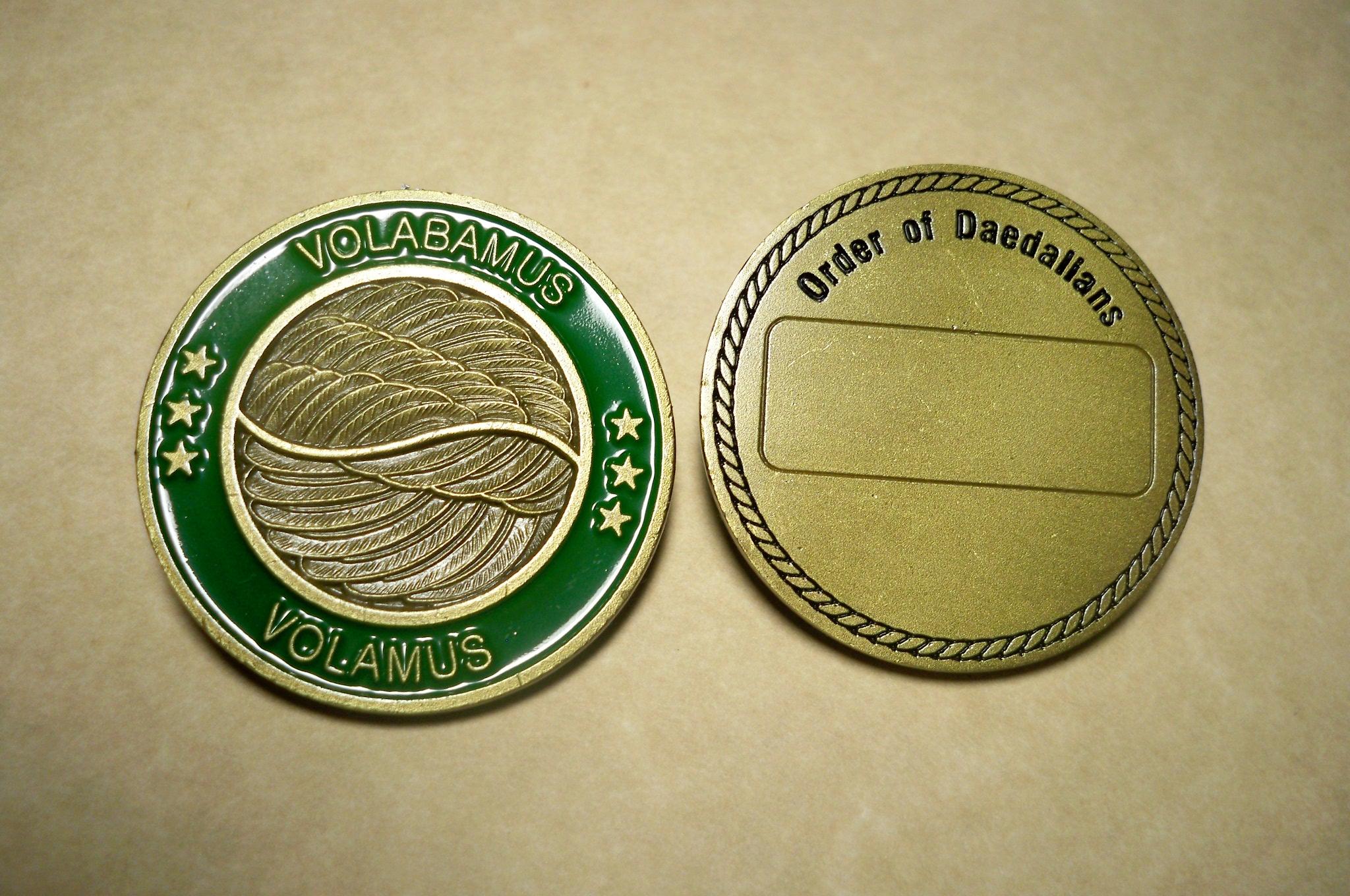 Daedalian Coins