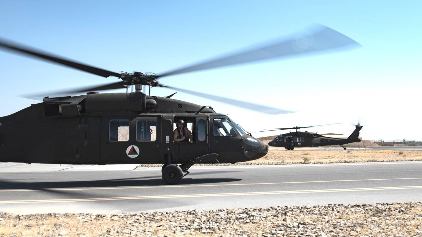 Afghanistan's Rebuilt UH-60s Could Actually Hurt Its Warfighting Ability in the Near Term