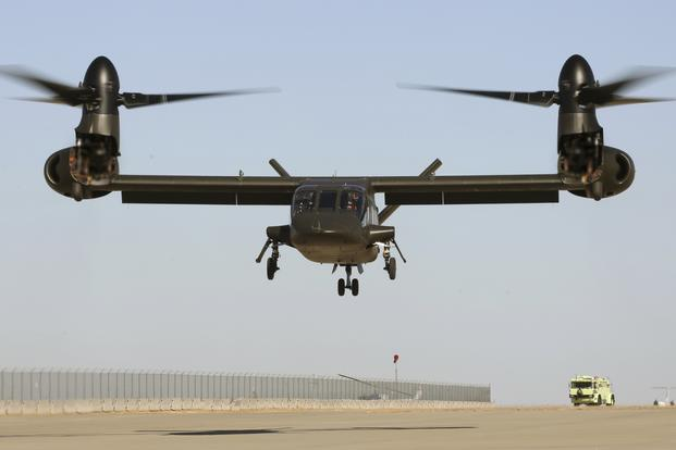 Watch Bell's Next-Generation Tilt-Rotor V-280 Valor Take Flight