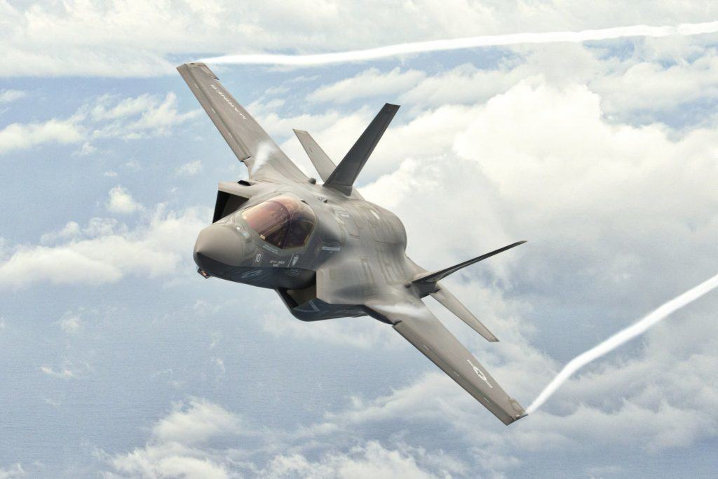 The Marines' F-35 will get its first taste of combat in 2018