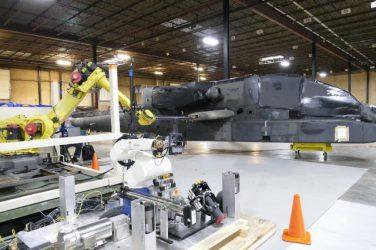 Concept demonstration explores robotic aviation refueling system