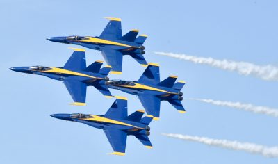 Blue Angels 'Boss' Stresses Need for Debrief in Ops