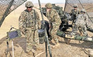 Aviation Soldiers collaborate with artillery