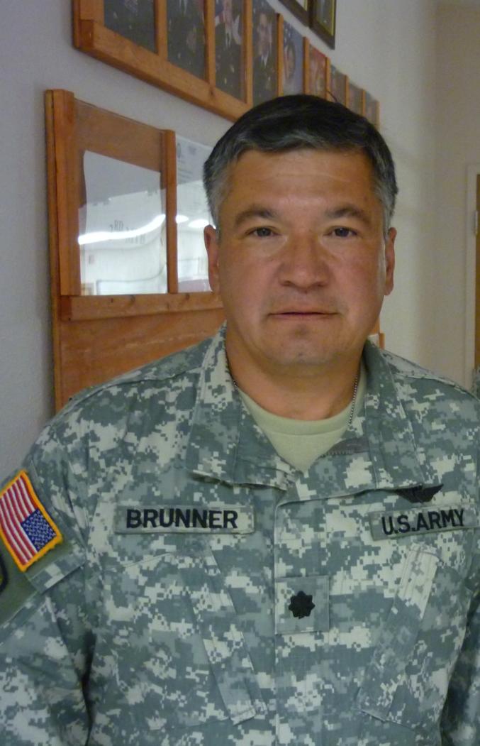 Lt Col Earl Brunner
