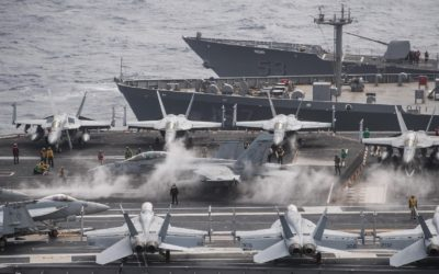 The US Navy's fighter woes are boosting Boeing's bottom line