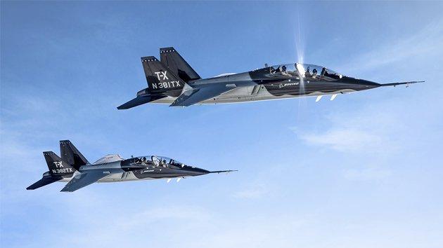 Boeing Wins $9.2B T-X Trainer ...