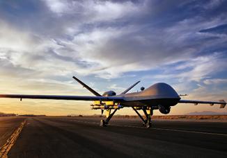 MQ-9 automated landing, takeoff