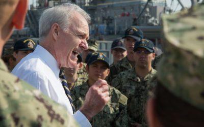 SECNAV Spencer Wants Navy to Manage Risk, Not Avoid it