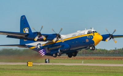 "U.S. Navy Blue Angels Get New ""Fat Albert"""