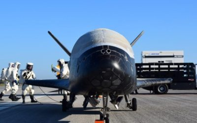 X-37B Space Plane Returns as USAF Collects Data for Possible Replacement